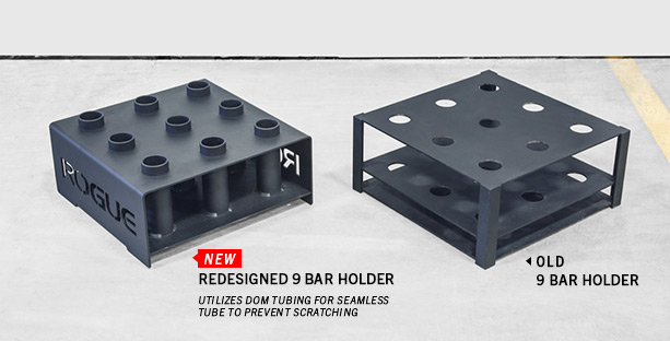 9 Bar Holder New vs Old Comparison