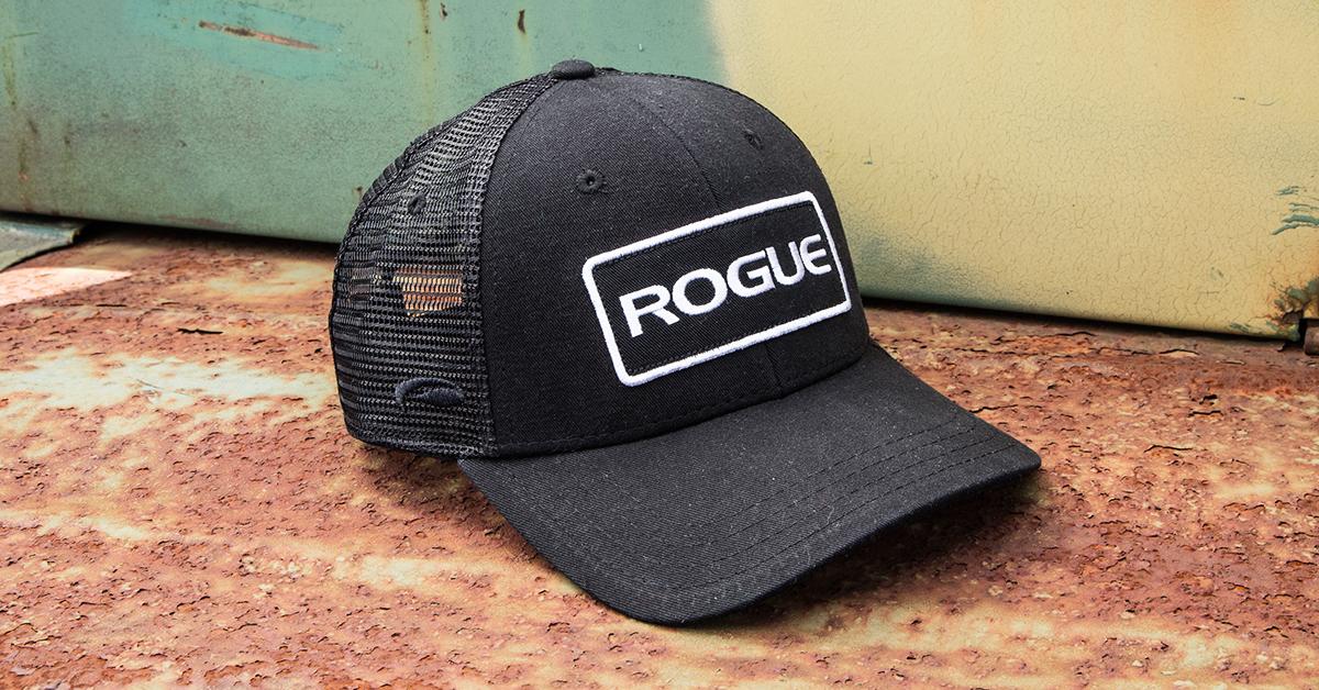 07e3584738f Rogue Patch Trucker Hat - Logo Cap - Black