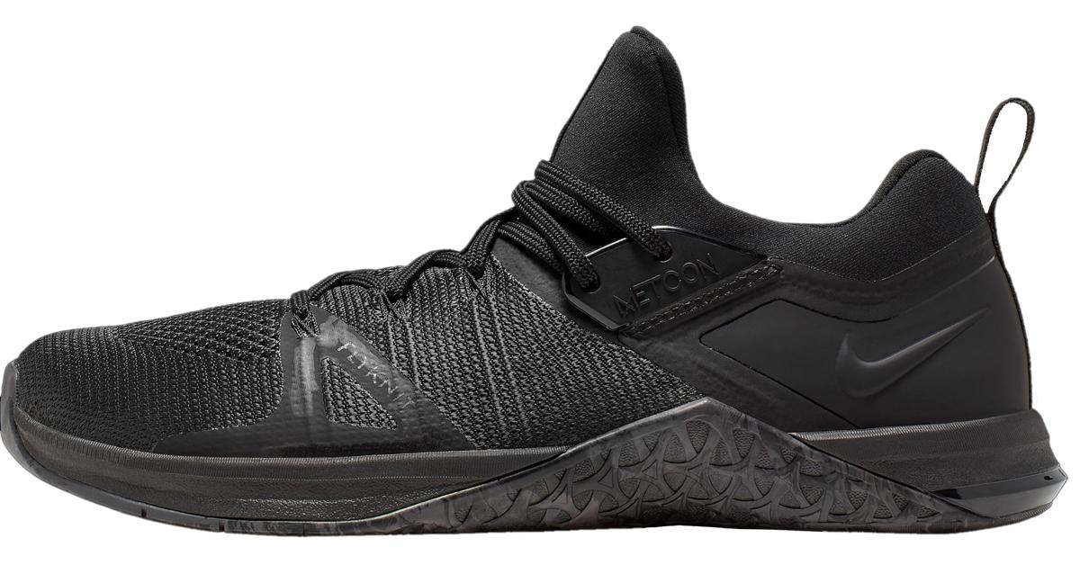 Restricción Secretario grueso  Nike Metcon Flyknit 3 - Men's - Black | Rogue Europe