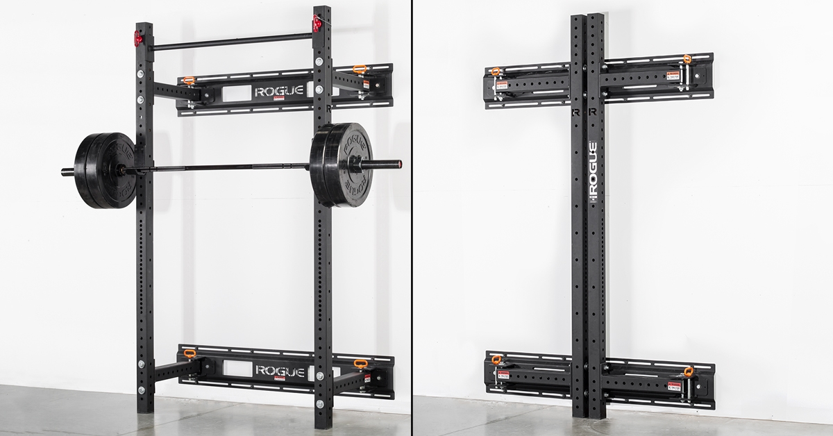 Rogue RML-3W Fold Back Wall Mount Rack - Made in the USA  3e545836fd5
