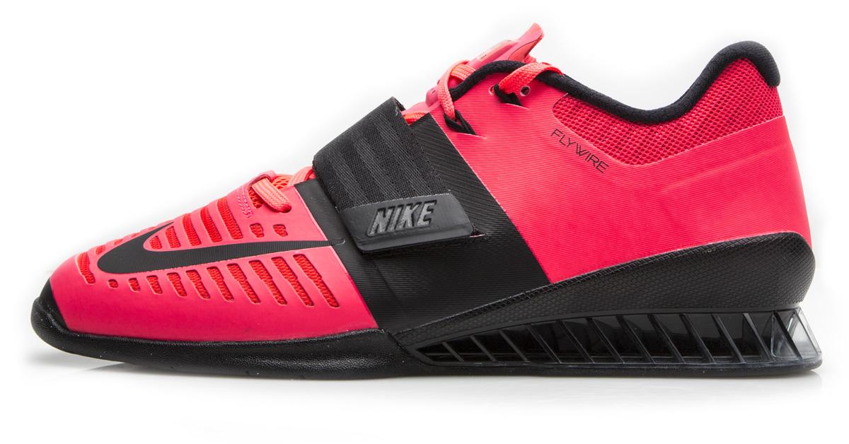 NIKE Romaleos 3.0 Men s - Solar Red   Black  4c434fc43050e