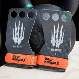 Bear Komplex 3 Hole Hand Grips - Carbon Fiber