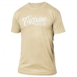 Caffeine & Kilos Script Shirt