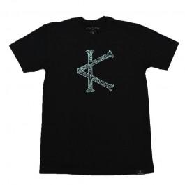 Caffeine & Kilos Paisley Cardinal Shirt