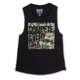 """Compete Every Day - """"The Camo"""" Muscle Tank - Women's"""