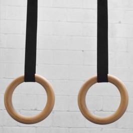Kid's Wood Gymnastic Rings