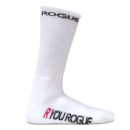 Rogue White Crew Socks