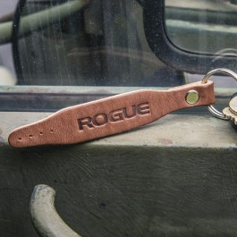 Rogue Leather Belt Keychain