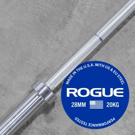 Rogue Olympic Weightlifting Bar - Bright Zinc