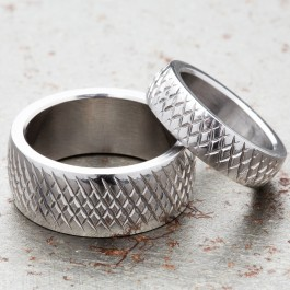 Rogue Knurled Rings