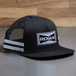 Casquette Trucker Striped Rogue - Visière plate