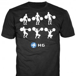 T-shirt Séquence Snatch Hookgrip