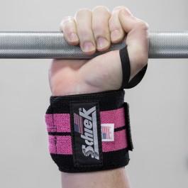 Schiek Wrist Wraps - Pink