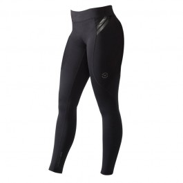VIRUS Women's Compression Pants - Black/Black
