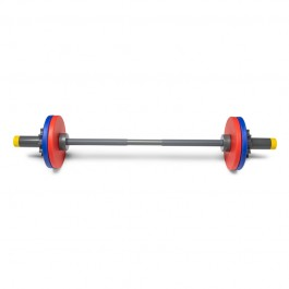 WOD Toys ®  Barbell Mini & Colored Bumper Plates